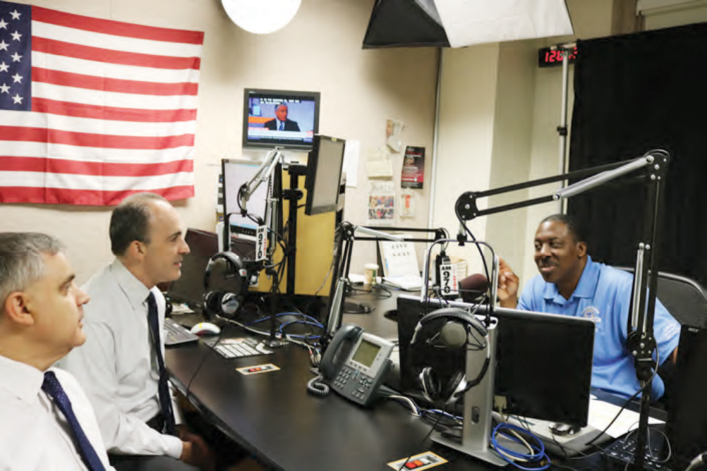 "Radio show ""Reaching Out With Gregory Floyd"" featured a conversation with Mario Cilento, President of the NYS AFL-CIO and Vincent Alvarez, President of the NYC Central Labor Council on the importance of voting ""NO"" to Con Con."